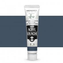 Turner : Acrylic Gouache Paint : Japanesque Texture : 20ml : Japanesque Grey 302