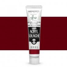 Turner : Acrylic Gouache Paint : Japanesque Texture : 20ml : Japanesque Red Purple 323