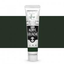Turner : Acrylic Gouache Paint : Japanesque Texture : 20ml : Japanesque Deep Green 346