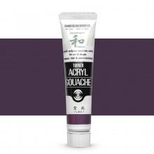 Turner : Acrylic Gouache Paint : Japanesque Texture : 20ml : Japanesque Greyish Purple 364