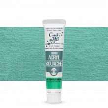 Turner : Acrylic Gouache Paint : 20ml : Colour Pearl Emerald 412
