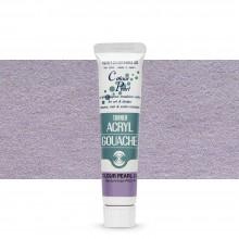 Turner : Acrylic Gouache Paint : 20ml : Colour Pearl Lilac 420