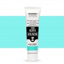 Turner : Acrylic Gouache Paint : 40ml : Aqua Green 141