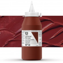 Vallejo : Studio Acrylic Paint : 1000Ml : Mars Red