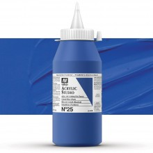 Vallejo : Studio Acrylic Paint : 1000ml : Cobalt Blue (Hue)