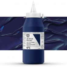Vallejo : Studio Acrylic Paint : 1000ml : Phthalo Blue