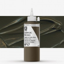 Vallejo : Studio Acrylic Paint : 200ml : Raw Umber (Hue)