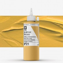 Vallejo : Studio Acrylic Paint : 200ml : Naples Yellow (Hue)