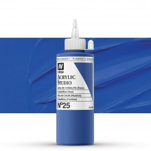 Vallejo : Studio Acrylic Paint : 200ml : Cobalt Blue (Hue)