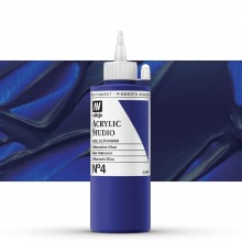 Vallejo : Studio Acrylic Paint : 200ml : Ultramarine Blue