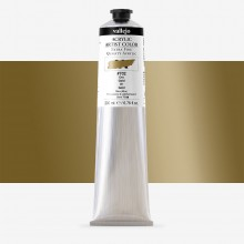 Vallejo : Artist Acrylic Paint : 200ml Tube : Gold (Iridescent)