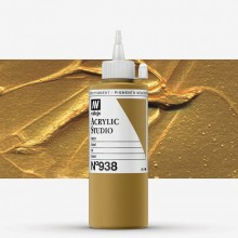 Vallejo : Studio Acrylic Paint : 200ml : Gold