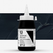 Vallejo : Studio Acrylic Paint : 500ml : Mars Black