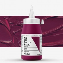 Vallejo : Studio Acrylic Paint : 500ml : Magenta