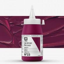 Vallejo : Studio Acrylic Paint : 500ml : Magenta