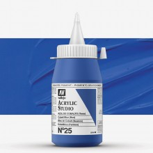 Vallejo : Studio Acrylic Paint : 500ml : Cobalt Blue (Hue)
