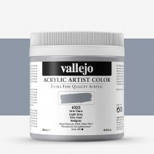Vallejo : Artist Acrylic Paint : 500ml : Light Grey