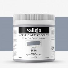 Vallejo : Artist Acrylic Paint : 500ml : Light Grey