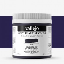 Vallejo : Artist Acrylic Paint : 500ml Pot : Prussian Blue (Hue)