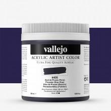 Vallejo : Artist Acrylic Paint : 500ml Pot : Prussian Blue (Hue)