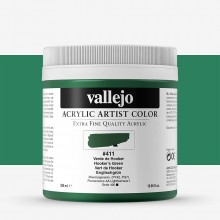 Vallejo : Artist Acrylic Paint : 500ml Pot : Hookers Green