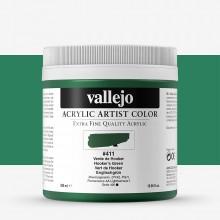 Vallejo : Artist Acrylic Paint : 500ml Pot : Hookers Green