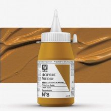 Vallejo : Studio Acrylic Paint : 500ml : Mars Yellow