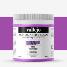 Vallejo : Artist Acrylic Paint : 500ml Pot : Cobalt Violet