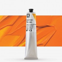 Vallejo : Studio Acrylic Paint : 58ml : Azo Yellow Orange.