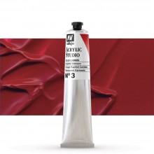 Vallejo : Studio Acrylic Paint : 58ml : Naphthol Crimson.