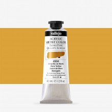 Vallejo : Artist Acrylic Paint : 60ml : Mars Yellow