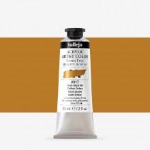 Vallejo : Artist Acrylic Paint : 60ml : Yellow Ochre