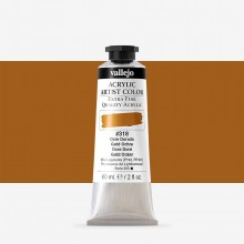 Vallejo : Artist Acrylic Paint : 60ml : Gold Ochre
