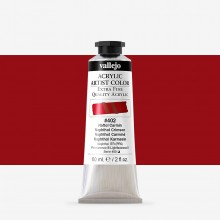 Vallejo : Artist Acrylic Paint : 60ml : Naphthol Crimson