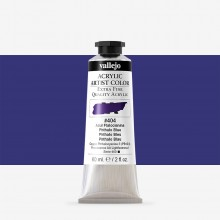 Vallejo : Artist Acrylic Paint : 60ml : Phthalo Blue