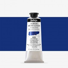 Vallejo : Artist Acrylic Paint : 60ml : Ultramarine Blue