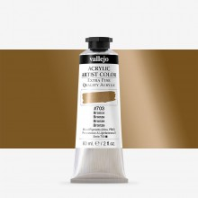Vallejo : Artist Acrylic Paint : 60ml : Bronze (Iridescent)