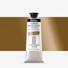 Vallejo : Artist Acrylic Paint : 60ml : Bronze (Iridescent)