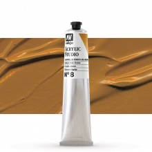 Vallejo : Studio Acrylic Paint : 58ml : Mars Yellow (Ochre)