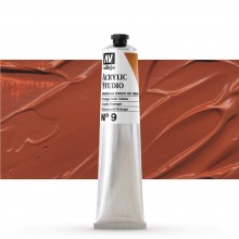 Vallejo : Studio Acrylic Paint : 58ml : Orange Iron Oxide