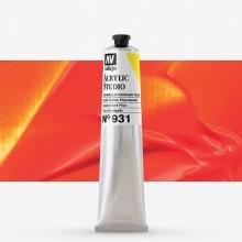 Vallejo : Studio Acrylic Paint : 58Ml : Gold Yellow Fluorescent