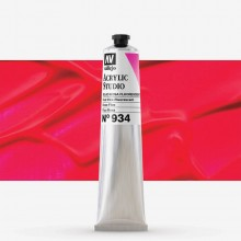 VALLEJO : STUDIO ACRYLIC PAINT : 58ML : RED PINK FLUORESCENT