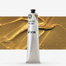 Vallejo : Studio Acrylic Paint : 58ml : Gold
