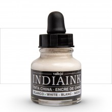 Vallejo : Indian Ink : 30ml : White