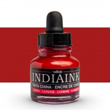 Vallejo : Indian Ink : 30ml : Carmine