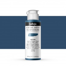 Vallejo : Fluid Artist Acrylic Paint : 100ml : Prussian Blue (Hue)