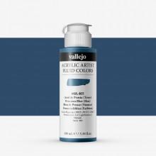 Vallejo : Fluid Artist Acrylic Paint : 100ml : Prussian Blue (Hue)
