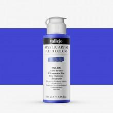 Vallejo : Fluid Artist Acrylic Paint : 100ml : Ultramarine Blue