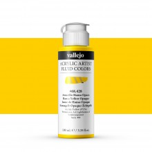 Vallejo : Fluid Artist Acrylic Paint : 100ml : Hansa Yellow Opaque