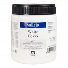 Vallejo : Acrylic Gesso : 750ml